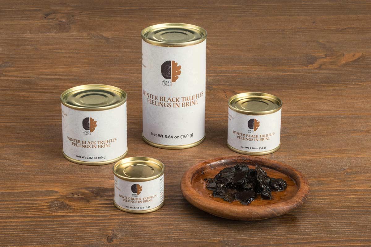 black truffle kept apart Angellozzi
