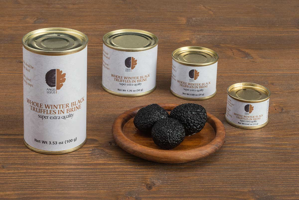 black truffle preserved Angellozzi