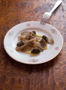 polenta con tartufi
