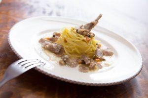piatto goumet con tartufi angellozzi