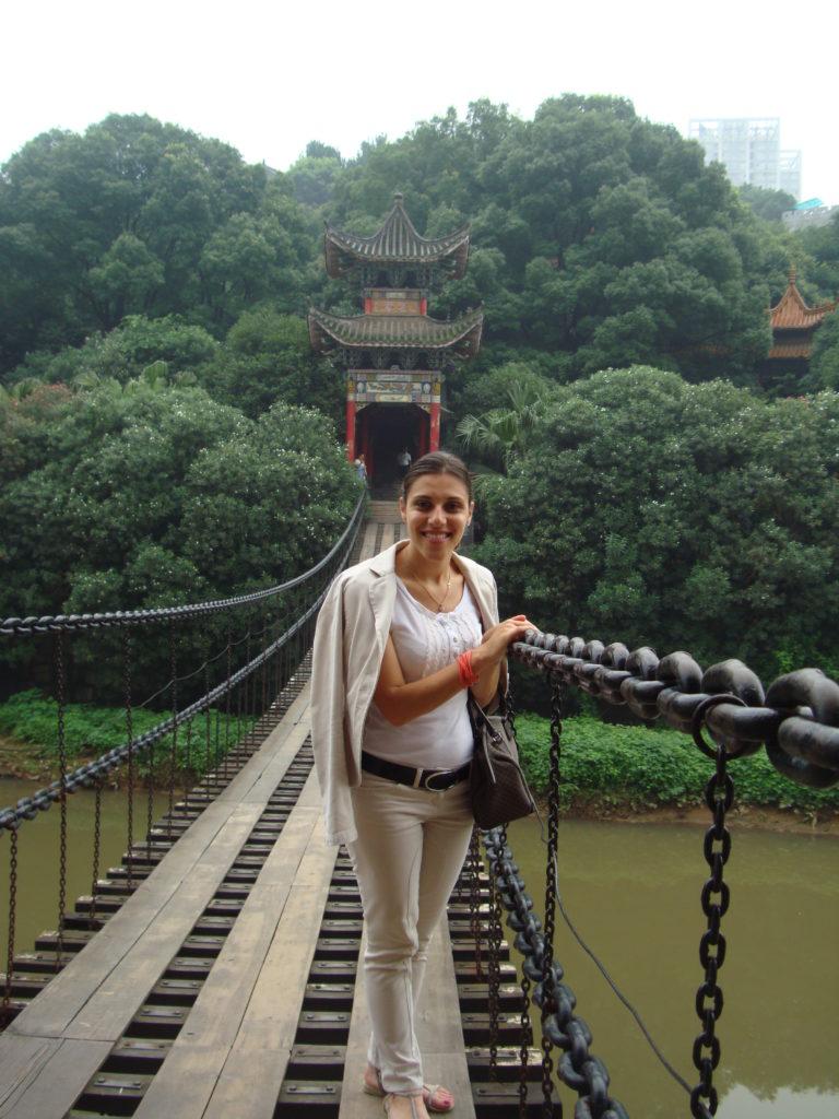 Vanda while representing truffles in China