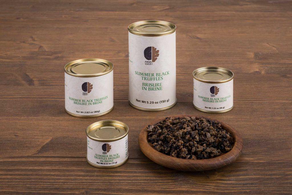summer black truffles brisure - angellozzi tartuficoltura